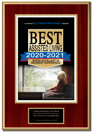 """Golden Moments Care Home, Inc. located at 2651 Armstrong Drive Sacramento, CA 95825. Selected For """"Best Assisted Living Facility Care 2020-2021"""" Award"""