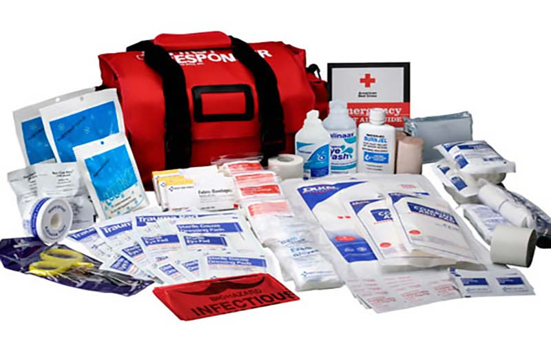 Emergency First Aid Kit & Supplies