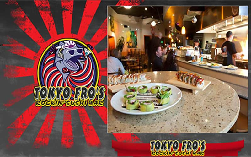 Fire Extinguisher, Kitchen & Sprinkler Systems Inspection Customer Review by Jeff Fro, Owner of Tokyo Fro's Rockin' Sushi Bar, Sacramento, Ca 95825.