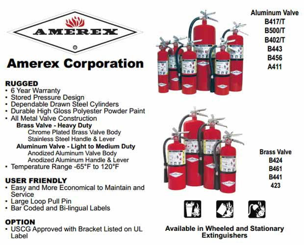 AMEREX ABC Fire Extinguishers